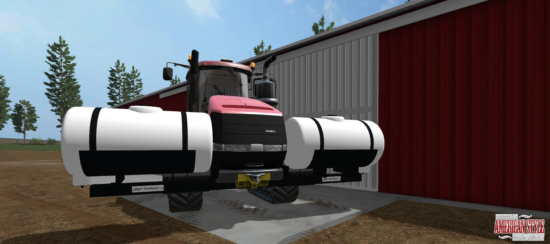 AGRI PRODUCTS SADDLE TANKS V1.0 LS17