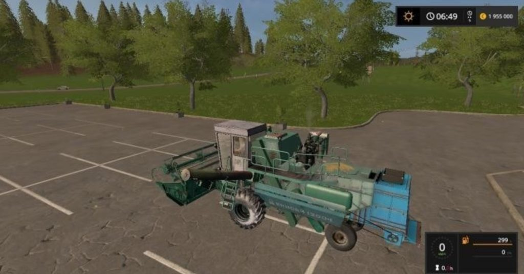 Yenisei-1200 and header v 1.0 LS17
