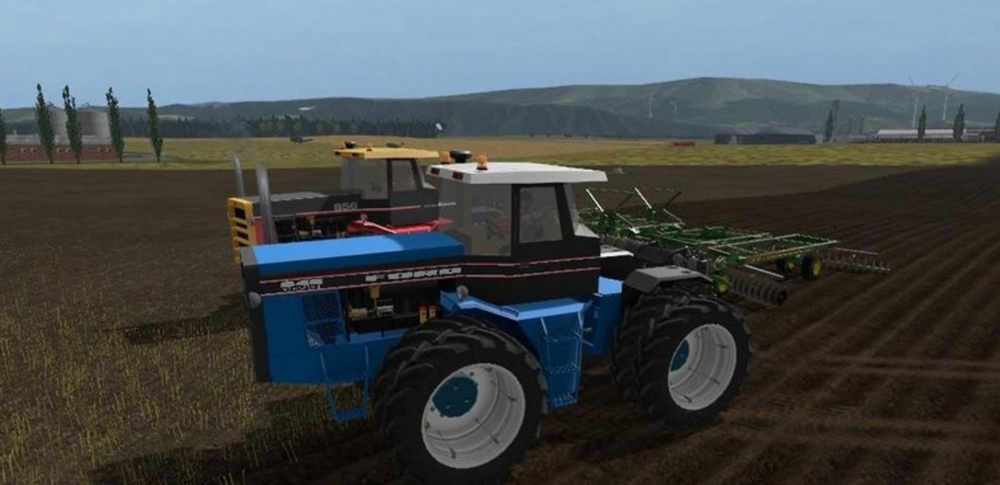 Ford Versatile 846 Tractor LS2017