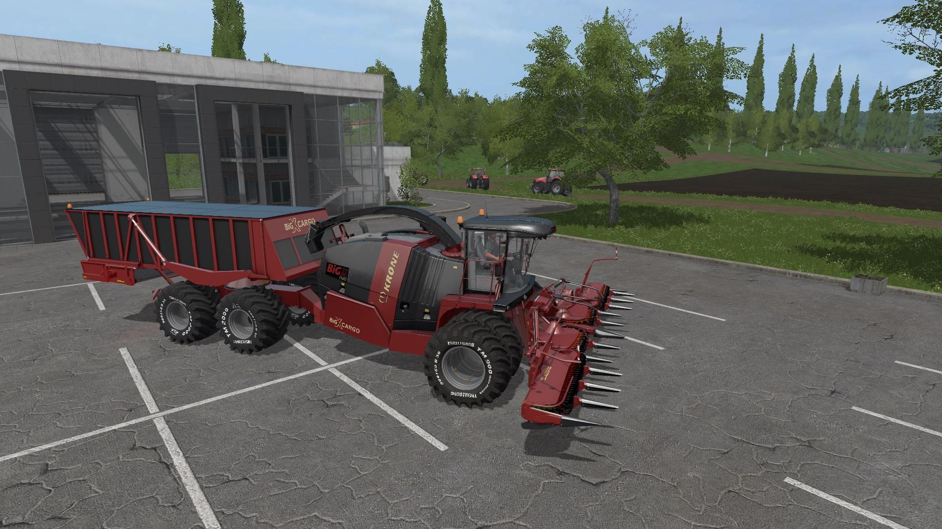 KRONE BIG X CARGO V1.0 LS 17