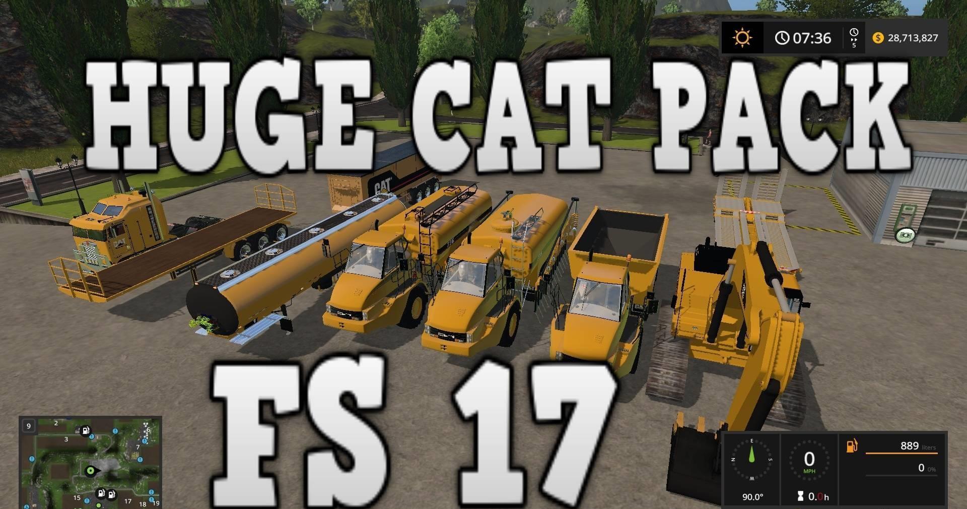 HUGE CAT PACK V2.0 FS17