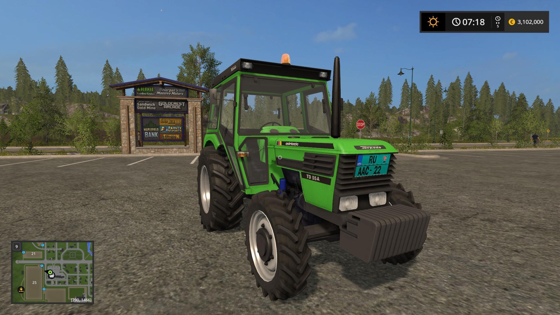 TORPEDO 55A V1.0 FS17