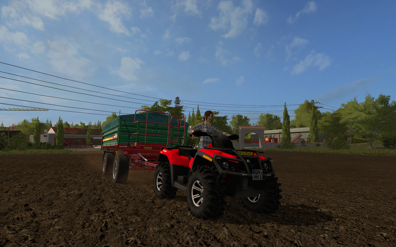 CanAM 1000 XT Fire Department Fundmod V 2.0.1.7 FS17