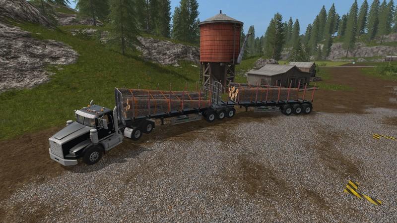 Custom Road Train Pack V 2.0 FS17