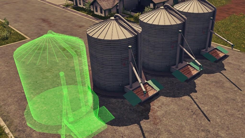 Grains Storage Silo Placeable 1.0.0.1 FS17