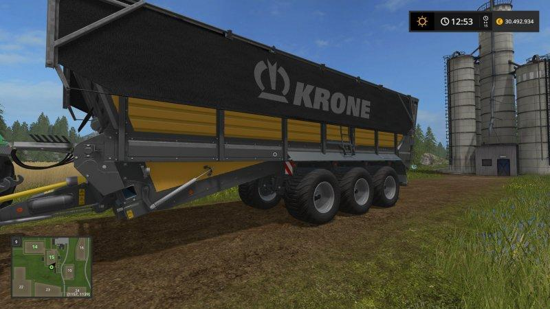 KRONE TX560D FS17