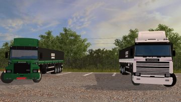 SCANIA T AND R 113 V1.0 FS17