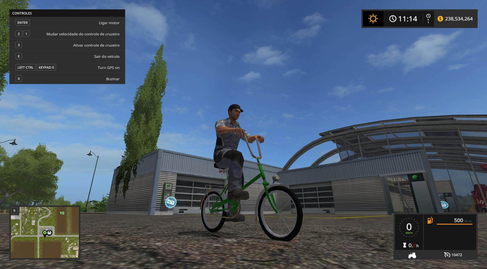 BYCICLE GREEN INFINITE SPEED V1.0 LS17