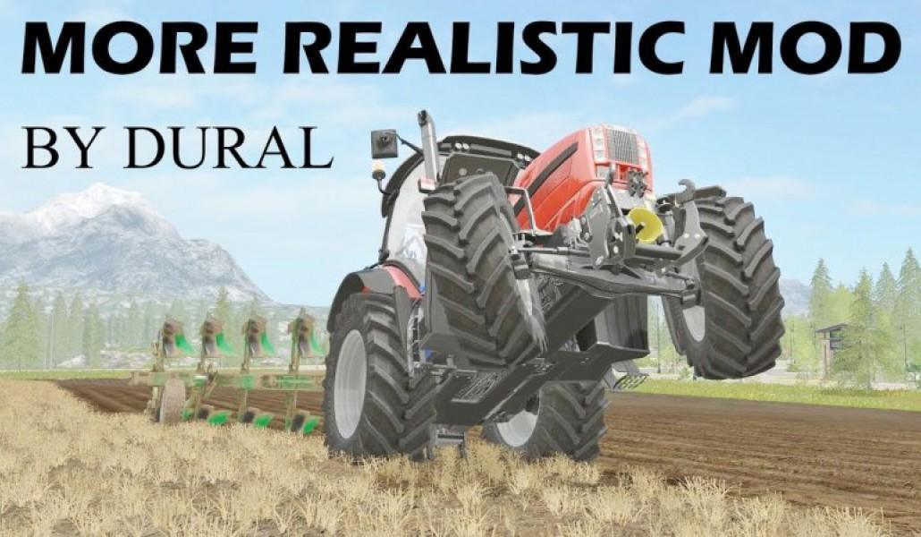 MORE REALISTIC V3 FS17