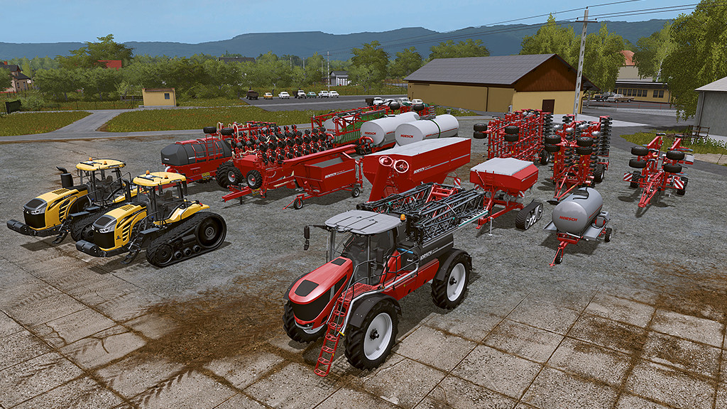 HORSCH AgroVation Vehicles PACKS