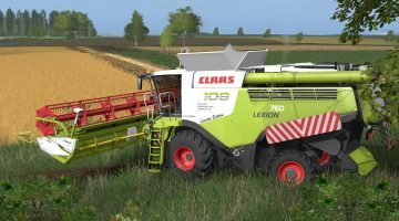 CLAAS LEXION 700 STAGE IV MW EDITION V2.0.1.0 COMBINES
