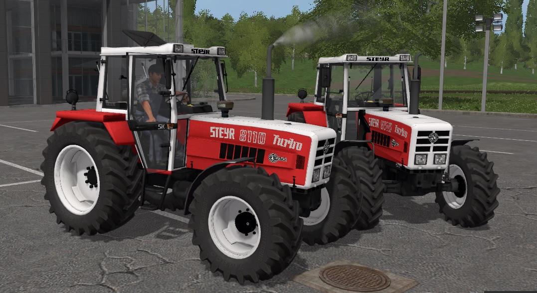 Steyr 8110a Turbo SK2