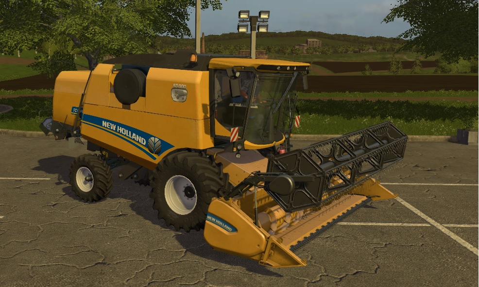 New Holland TC 4.90 + Varifeed 18FT