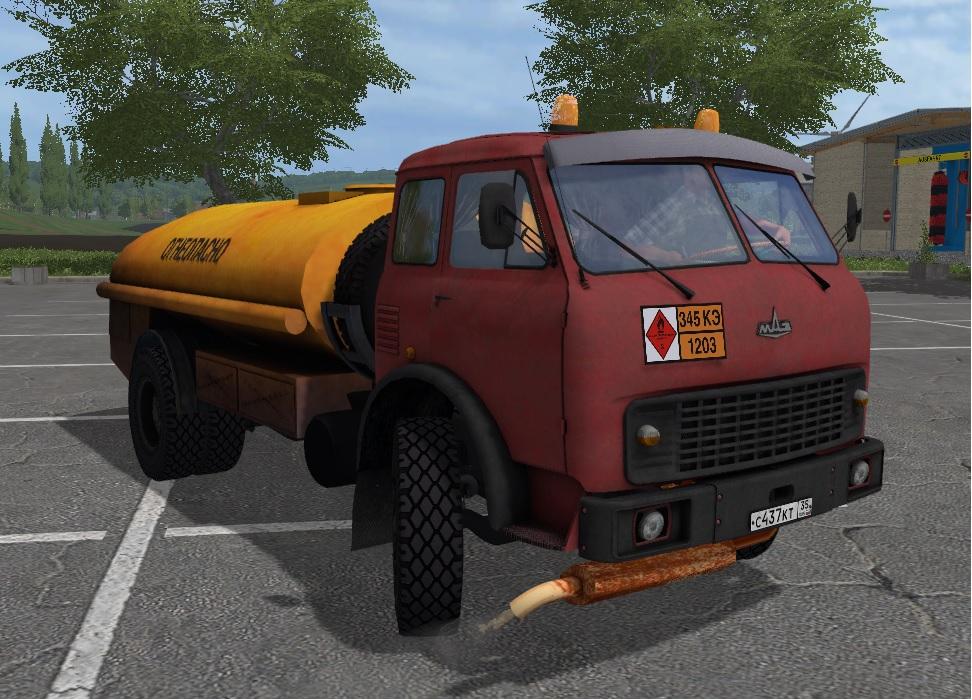 MAZ-500 Benzovoz