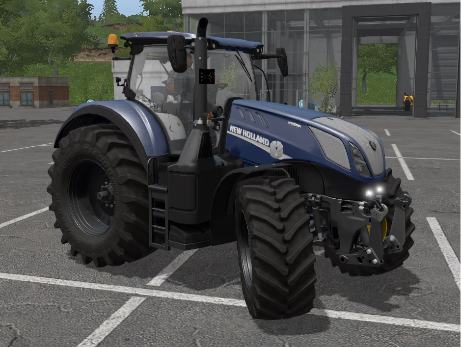 New Holland T7 HD 290/315/Chip
