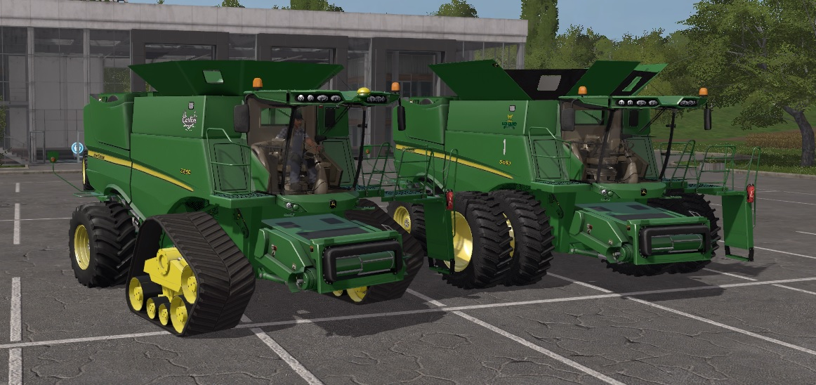 John Deere S600 US Vesion Model 2012