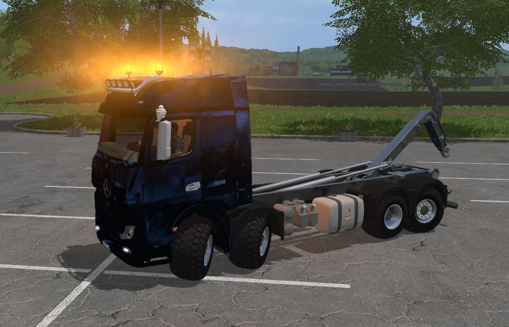 Mercedes Actros MP4 IT Runner 8X8