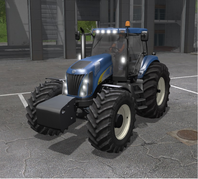 New Holland TG 285 SuperSteer